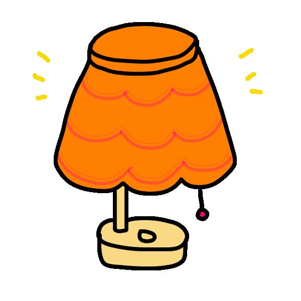 ランプのイラスト