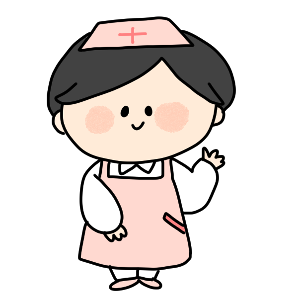 新米看護師女のイラスト