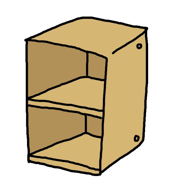 二段BOXのイラスト