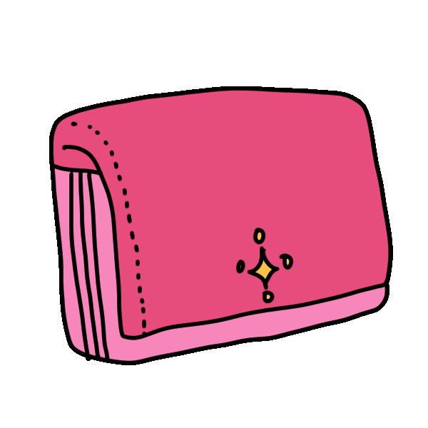 財布1のイラスト