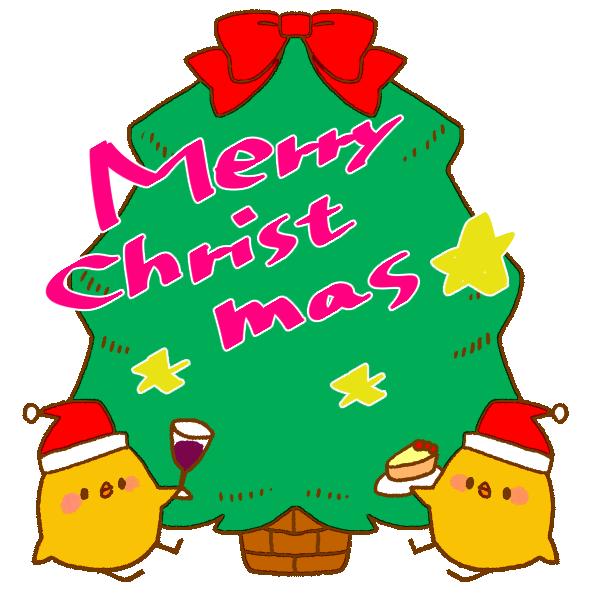 クリスマスカードのイラスト