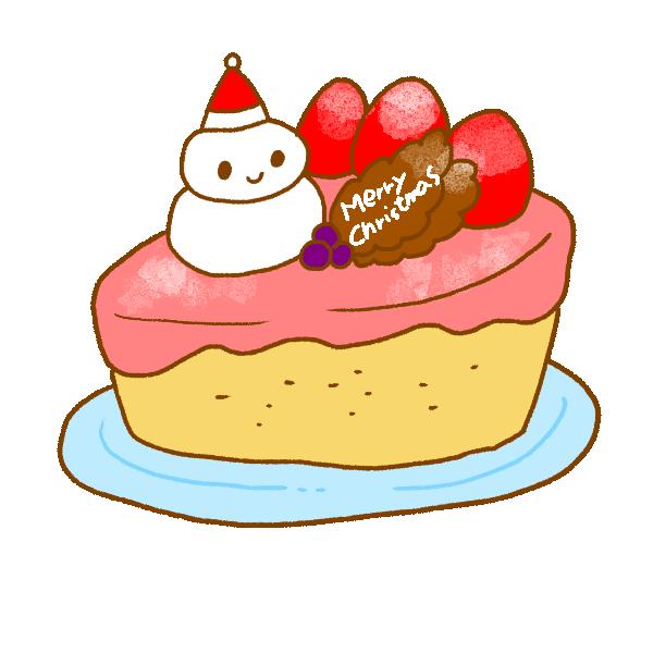 クリスマスケーキ2のイラスト