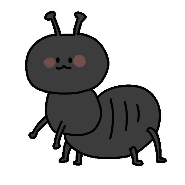 アリのイラスト