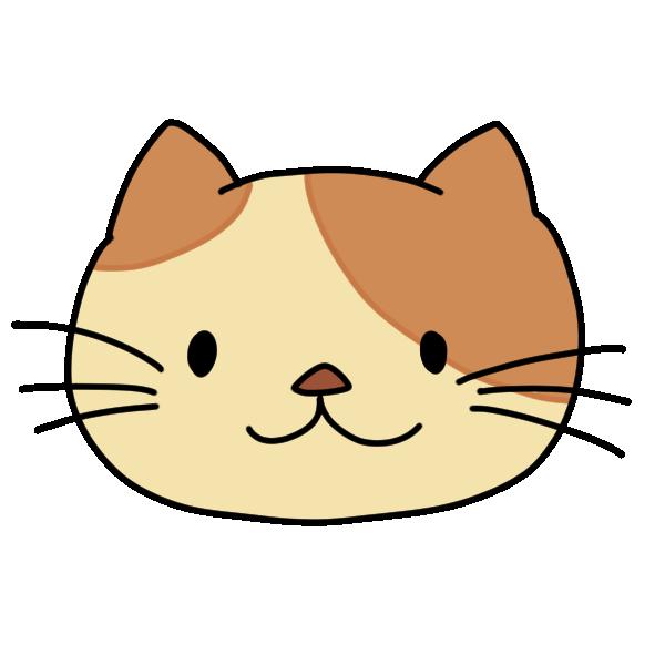 いつもの猫のイラスト