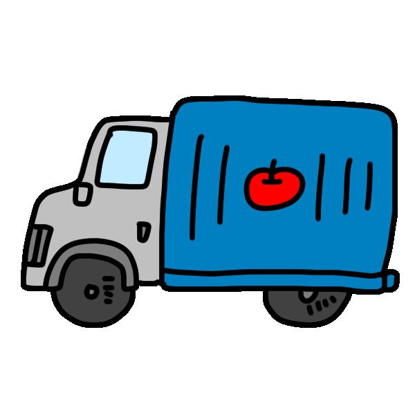 トラック1のイラスト