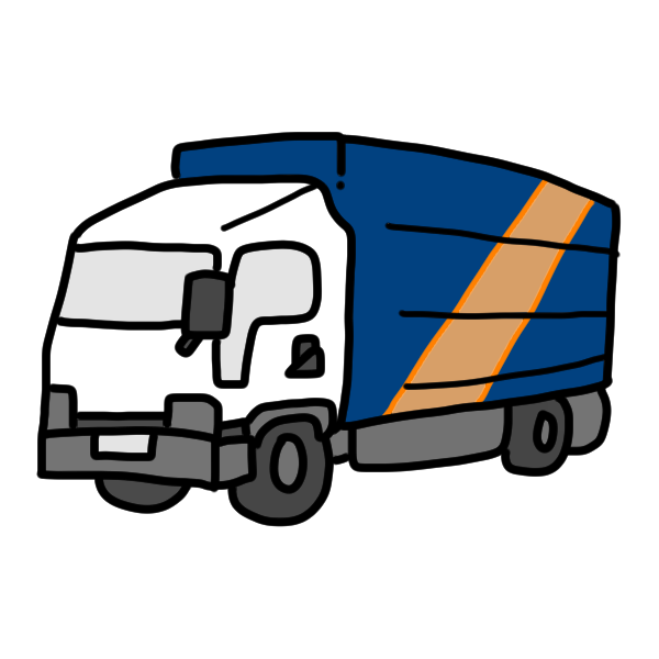 トラック2のイラスト