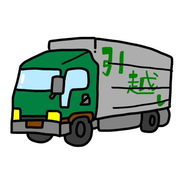 トラック3のイラスト