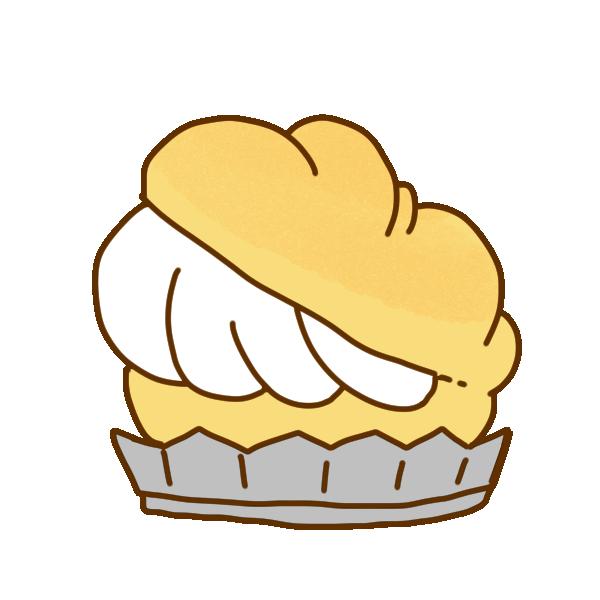 シュークリームのイラスト