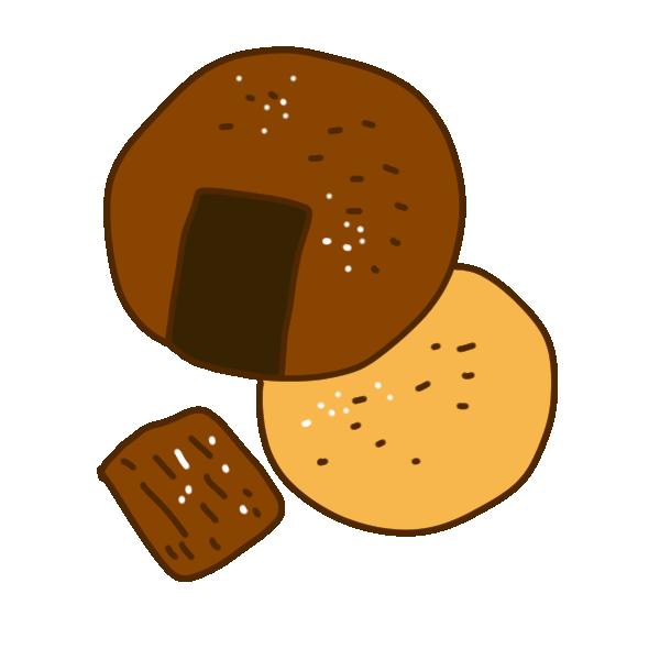 「煎餅 フリー素材」の画像検索結果