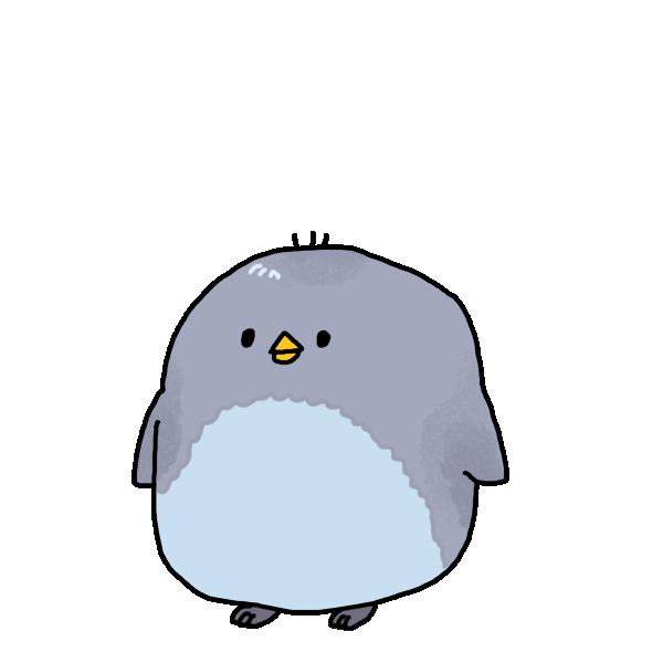 子どものペンギンのイラスト