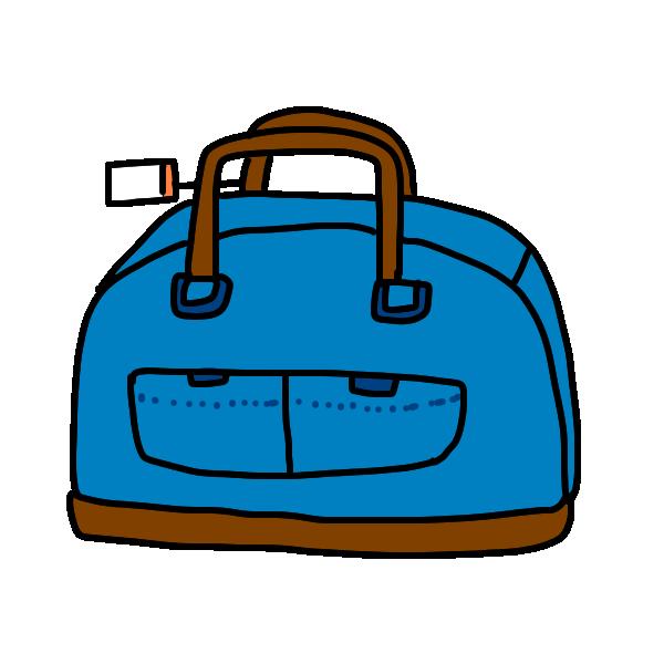 旅行かばん2のイラスト