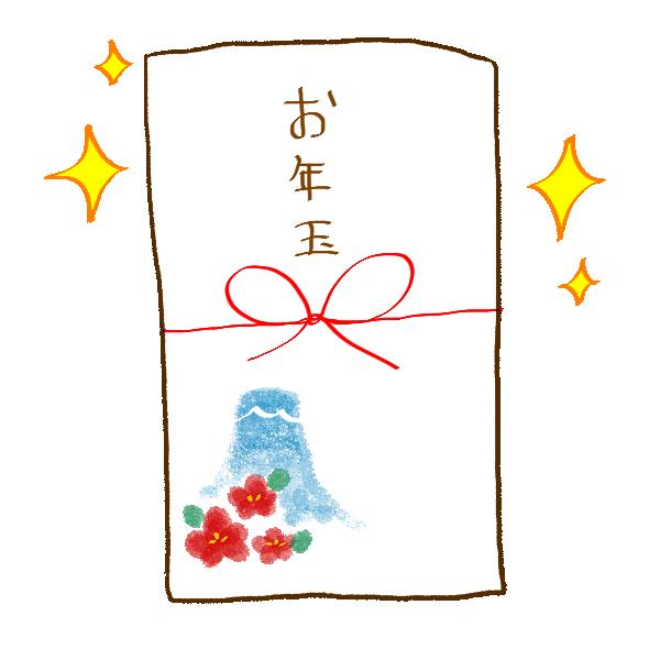 お年玉のイラスト
