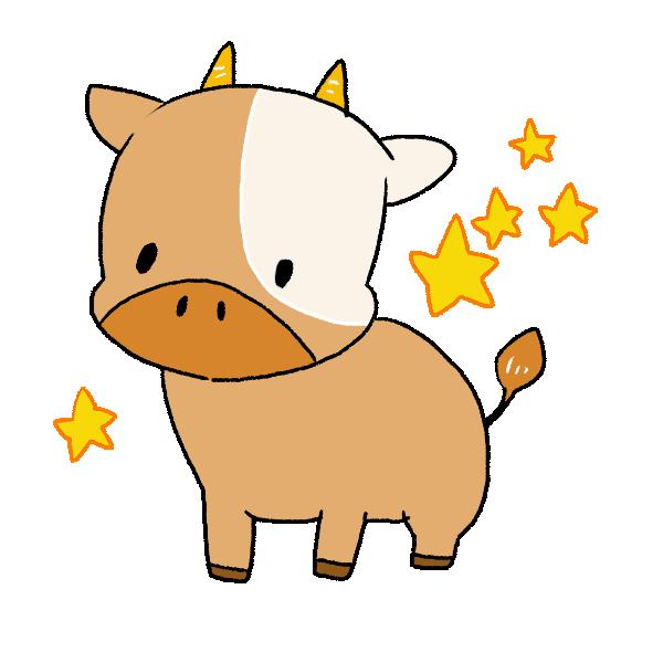 彦星の牛のイラスト