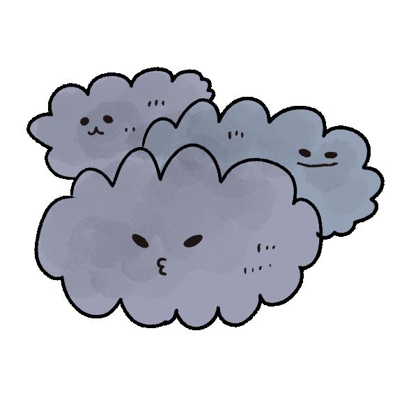 「曇り イラスト フリー」の画像検索結果
