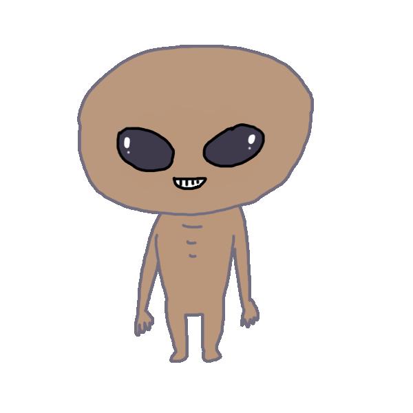 宇宙人2のイラスト