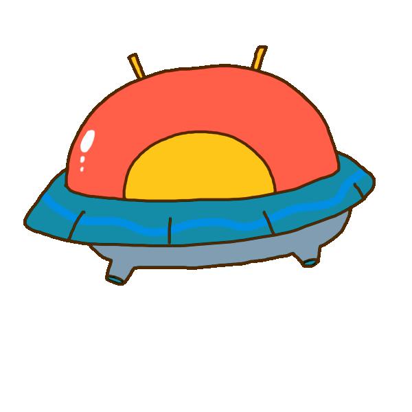 宇宙船のイラスト