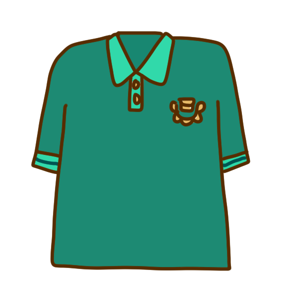ポロシャツのイラスト