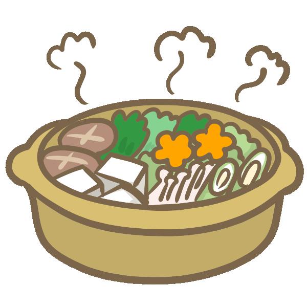 よせ鍋のイラスト