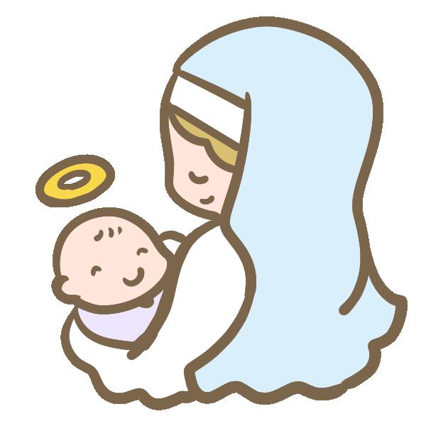 イエス降誕のイラスト