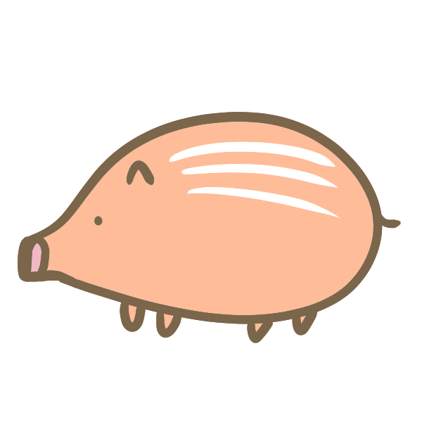 うりぼうのイラスト