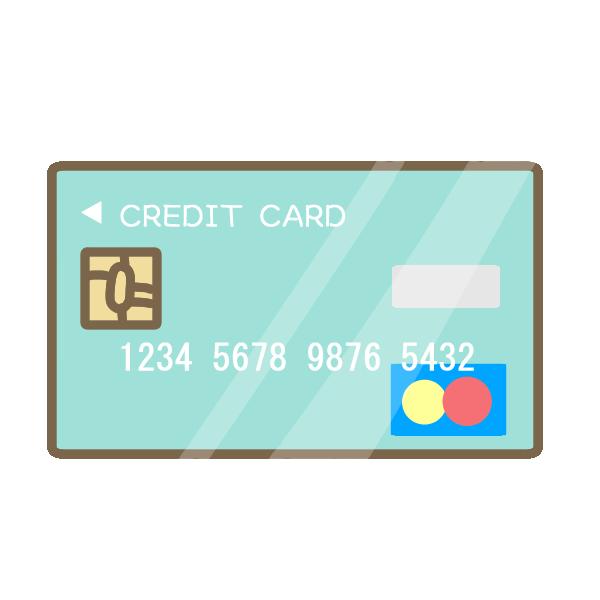 クレジットカードのイラスト