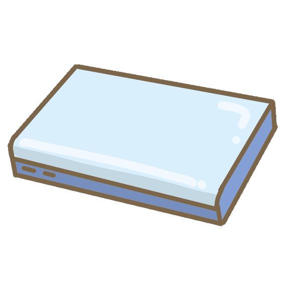 モバイルバッテリー(大容量)のイラスト