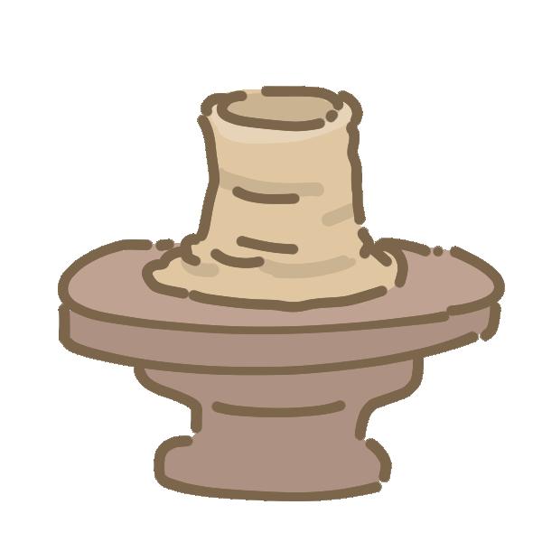 陶芸のイラスト