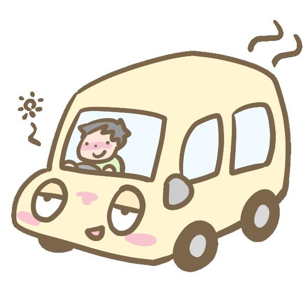 酒気帯び運転のイラスト