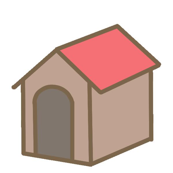 犬小屋のイラスト