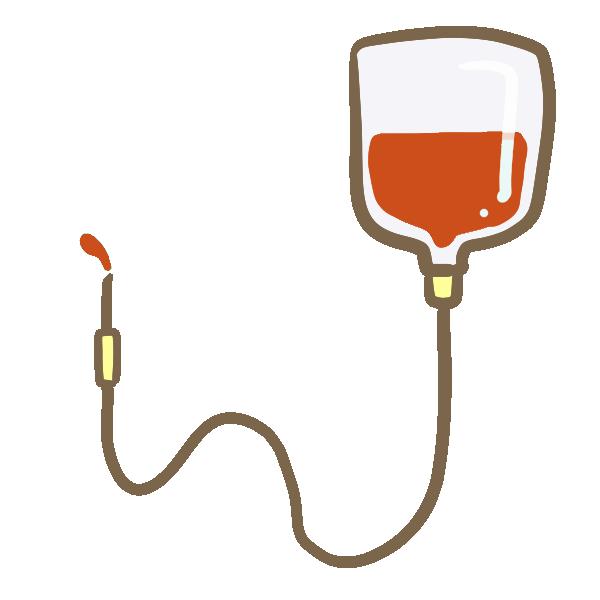 輸血のイラスト