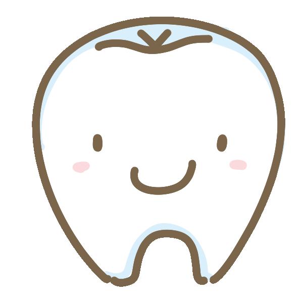 可愛い歯のイラスト