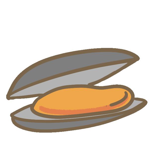 ムール貝のイラスト