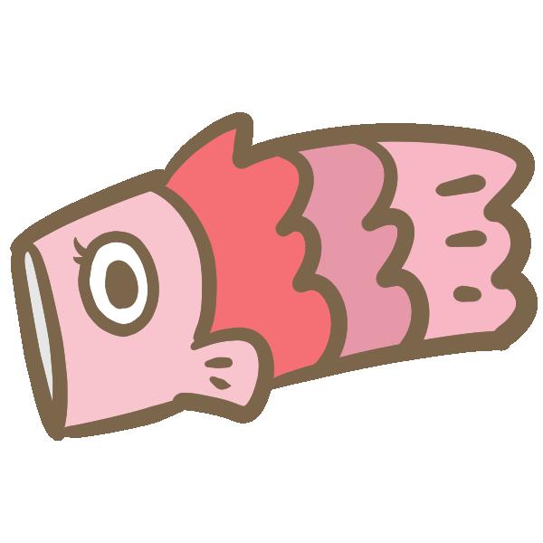 こいのぼり(お母さん)のイラスト