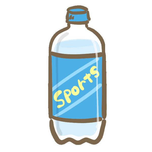 スポーツ飲料のイラスト