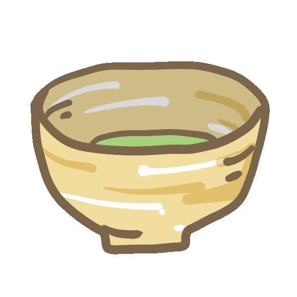 お抹茶のイラスト