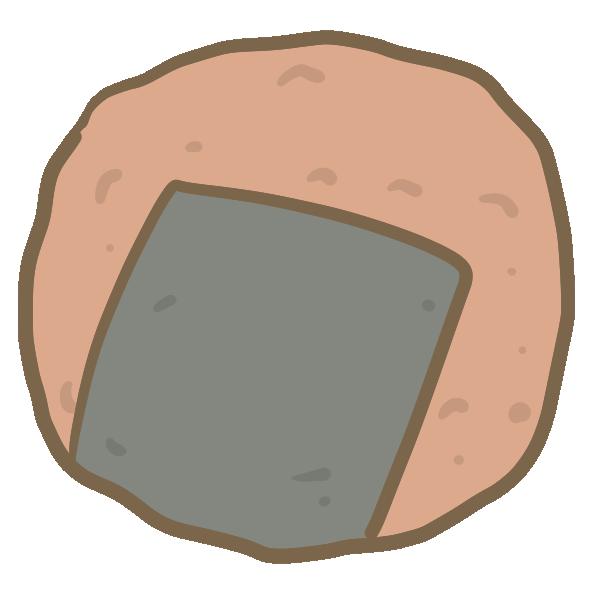 海苔せんべいのイラスト