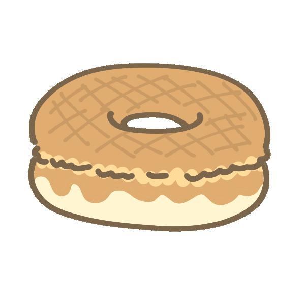 ドーナツのイラスト