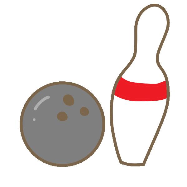ボウリングのイラスト