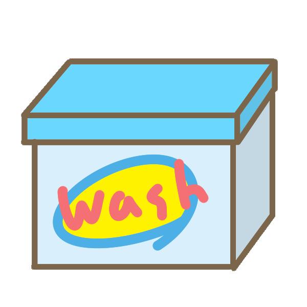 洗濯洗剤のイラスト