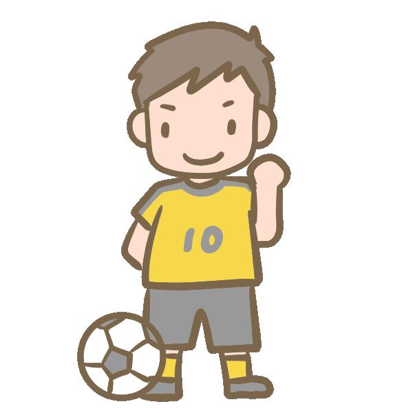 サッカーのイラスト   かわいい ...