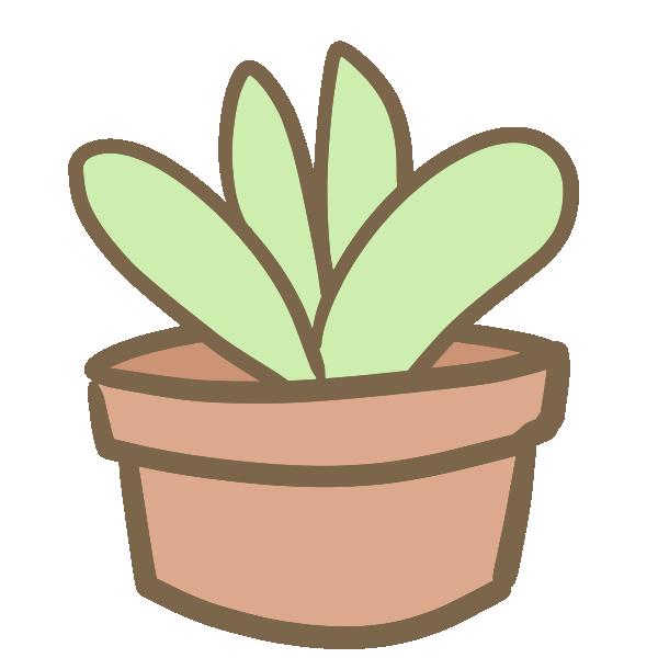 多肉植物(7)のイラスト