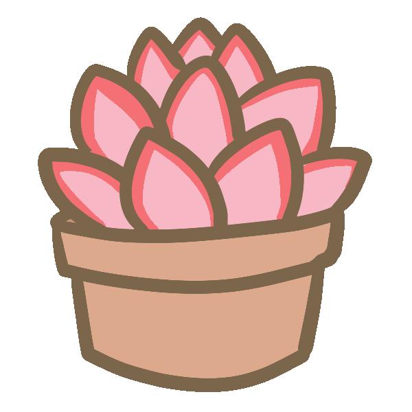 多肉植物(8)のイラスト