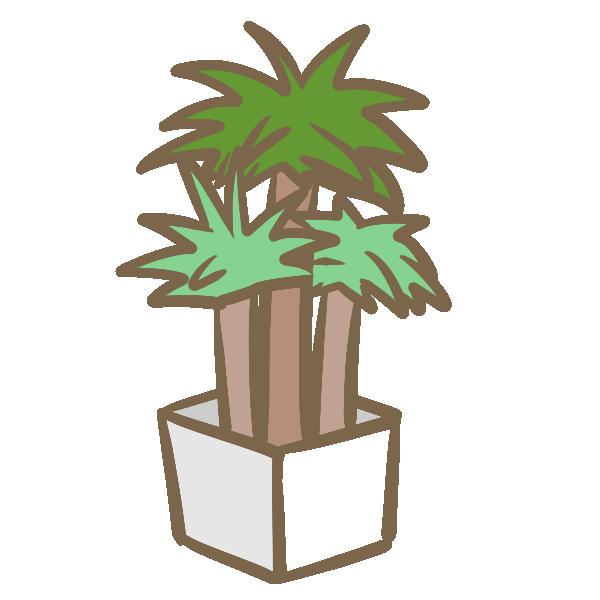 観葉植物(2)のイラスト