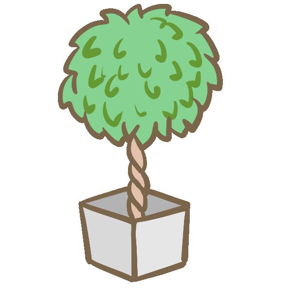 観葉植物(4)のイラスト