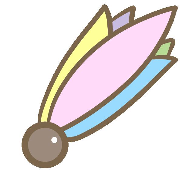 矢羽根のイラスト