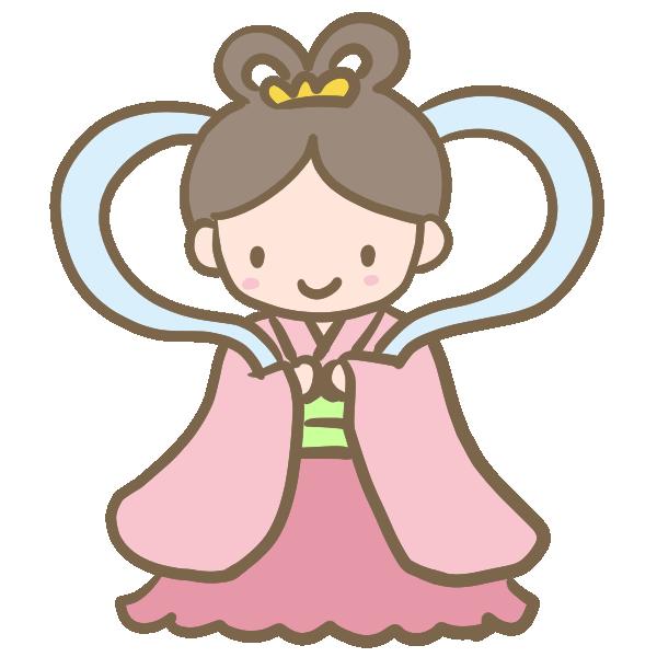 乙姫のイラスト