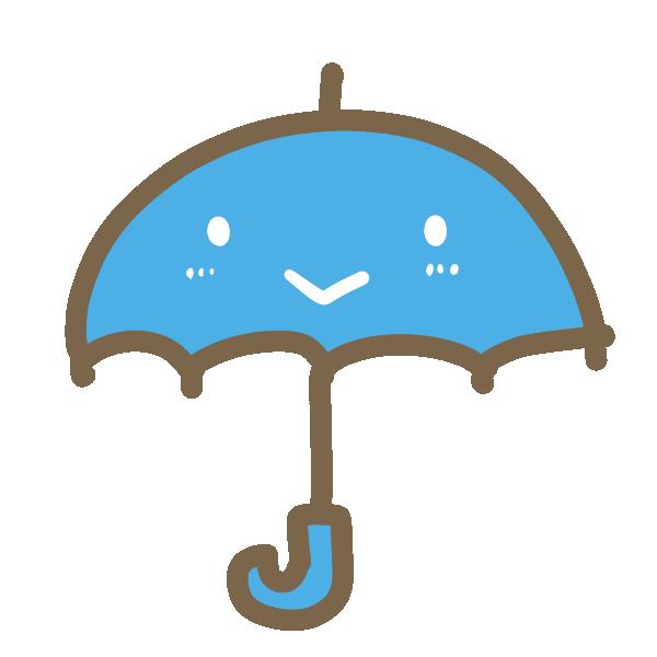 雨1のイラスト