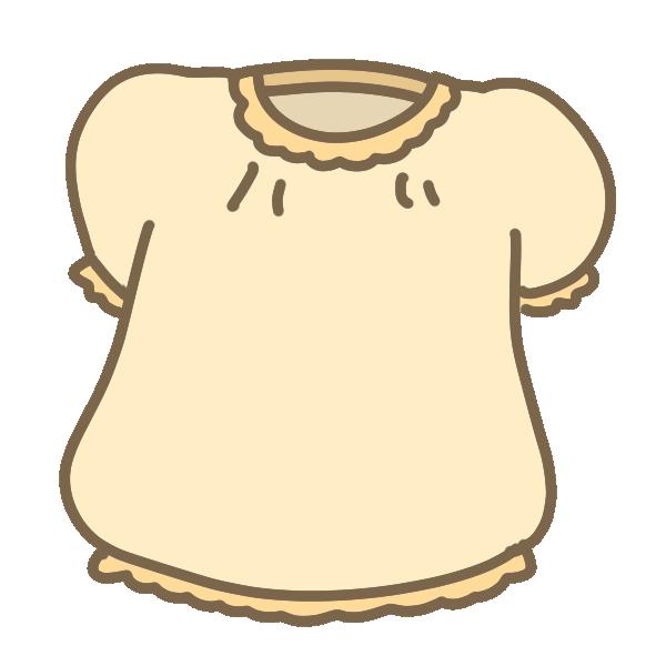 パフスリーブのシャツのイラスト