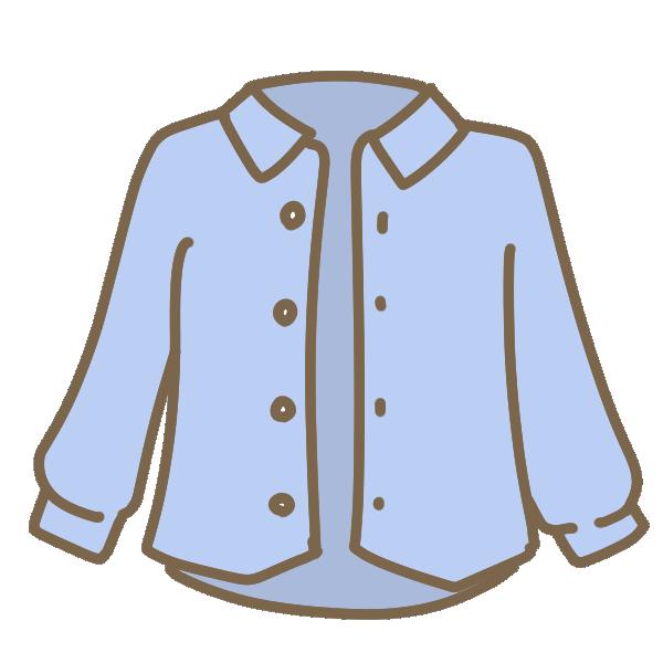 カジュアルシャツのイラスト