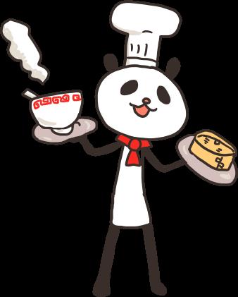 パンダさんの料理